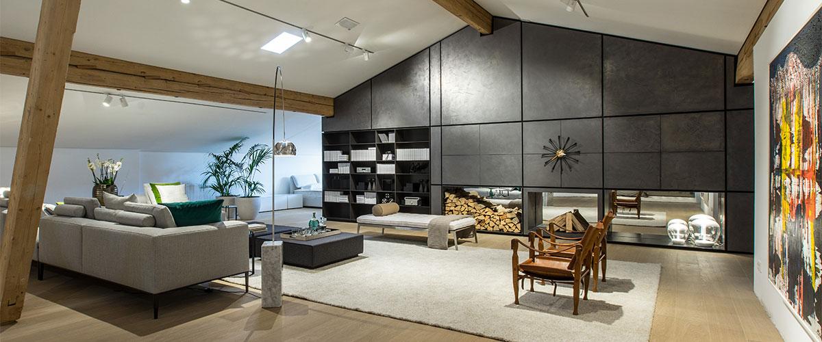 das wetscher penthouse tiroler tradition reduziert auf das wesentliche vom sch nen wohnen. Black Bedroom Furniture Sets. Home Design Ideas